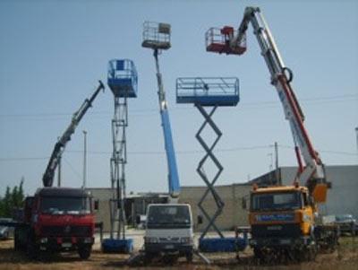 piattaforme e scale aeree