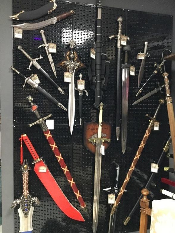 repliche spade medievali