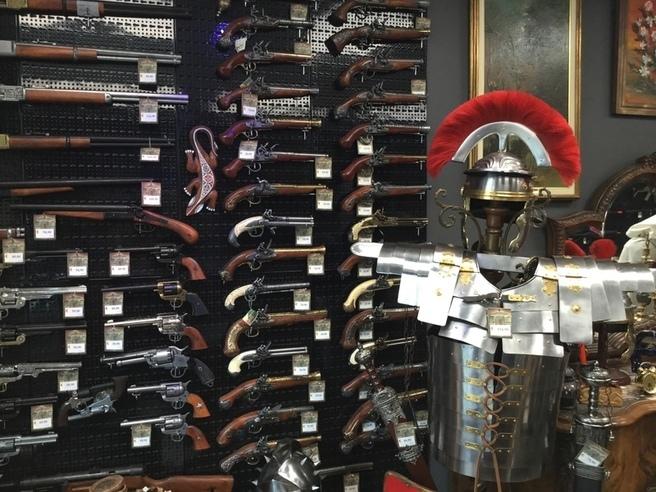 Repliche armi storiche
