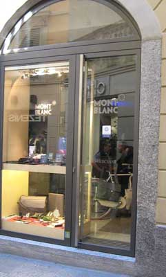 Mont Blanc - Bresciani Shop in Shop