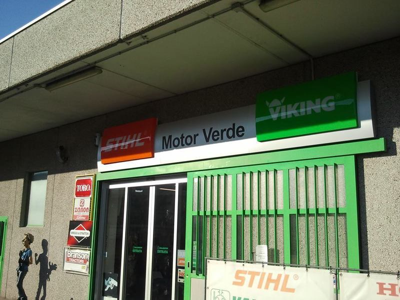 MOTOR VERDE MACCHINE PER IL GIARDINAGGIO