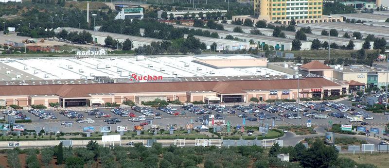 Edilizia commerciale-Auchan