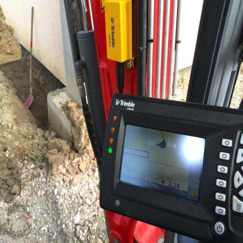 Sistema controllo scavo GPS