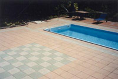 Piastrelle galleggianti per terrazzi pavimento per terrazzo
