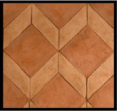 pavimenti in cotto composizione fiorentina