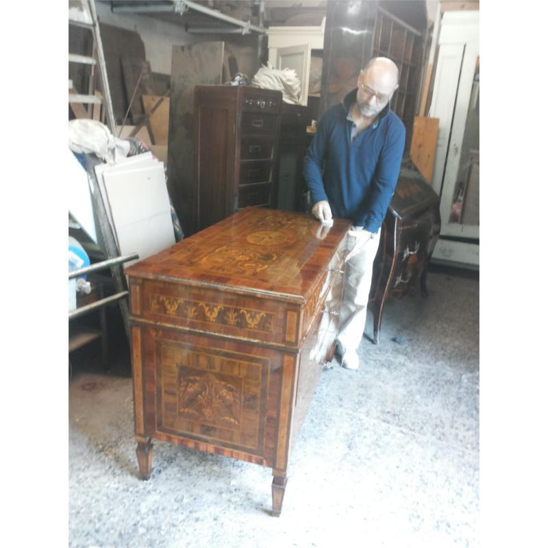 Preventivo per minelli giuseppe restauro mobili antichi - Restauro mobili genova ...