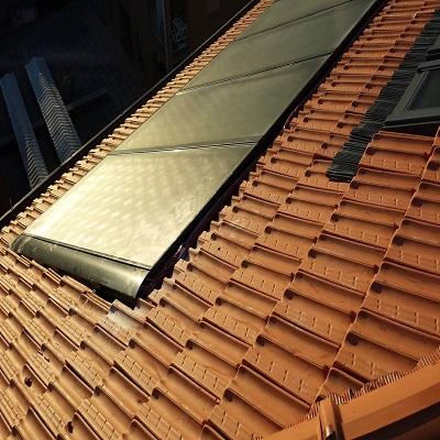 Impianto solare ad incasso