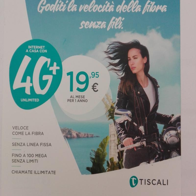 Installatore Autorizzato TISCALI4G, per info:3476105552.