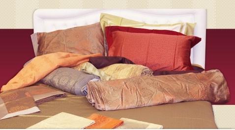 Cuscini e tessuti