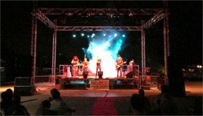 Servizio di audio e luci per spettacoli