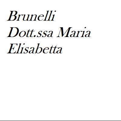 Brunelli Dott.ssa Maria Elisabetta - Medici specialisti - ostetricia e ginecologia Perugia