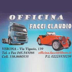 Claudio Facci Officina - Elettrauto - officine riparazione Verona