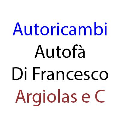 Autoricambi Autofà Di Francesco Argiolas e C - Autoaccessori - commercio Terralba