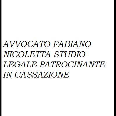 Avv. Fabiano Nicoletta - Avvocati - studi Foggia