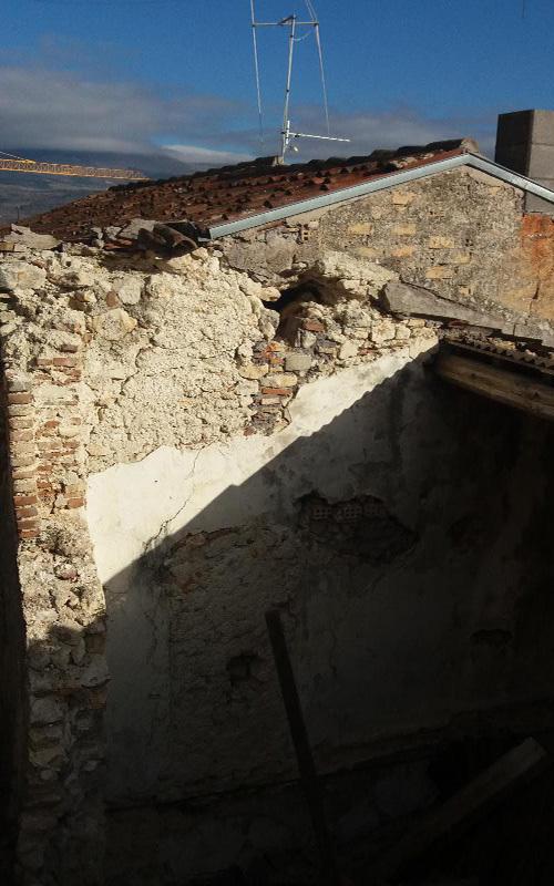 Parte di fabbricato da demolire e ricostruire