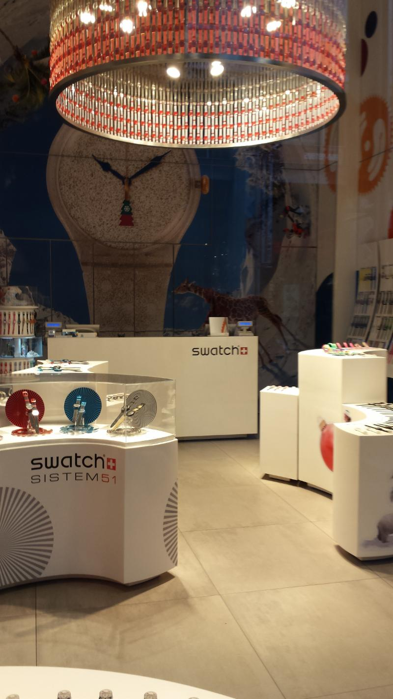 The Swatch Group Italia Spa